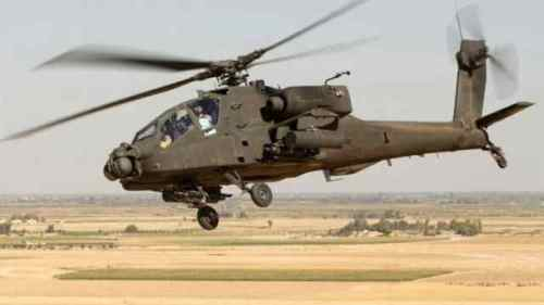 Military chopper crash kills two officers in Kenya