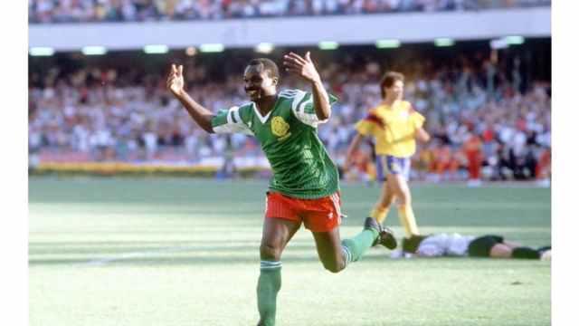 Roger Milla regrets Cameroun's loss to England at Italia 90