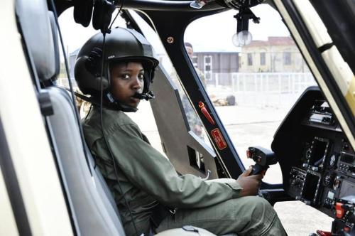 Worked on air, died on land: Nigerians pay last respect to first female combat officer Arotile