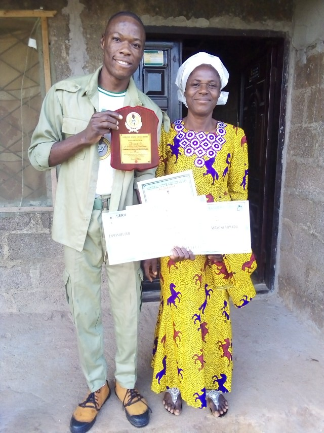 Meet widow who sponsored graduate that wrote O'level exams 17 times in 5 years