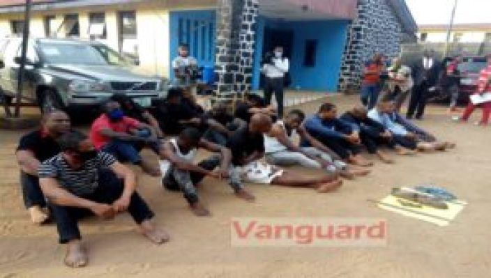 Imo Governor's convoy attack: Police arrest 15 suspects