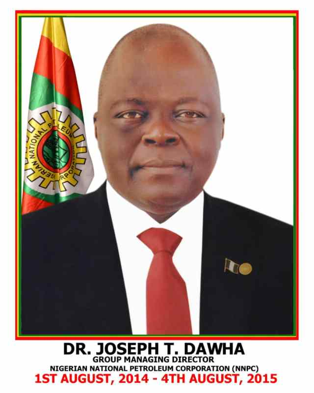 Former GMD of NNPC, Dawha is dead