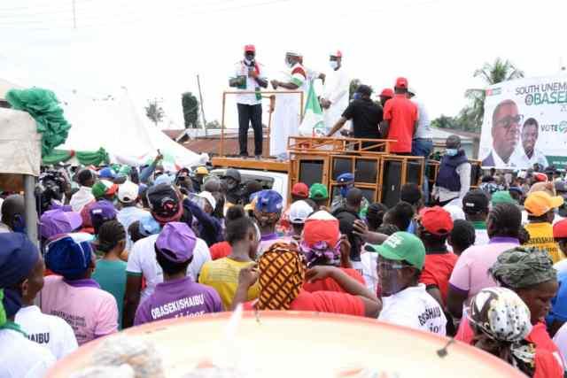 Obaseki takes campaign to Owan East, Etsako West, Etsako Central