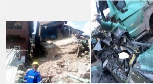 One crushed to death, another rescued in Lagos autocrash