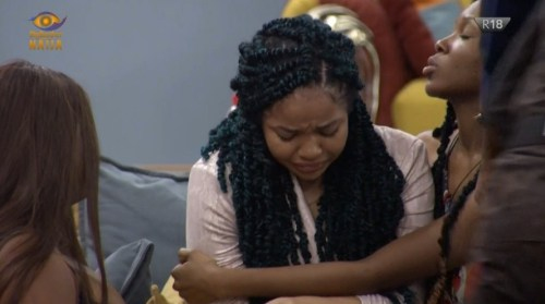 Nengi shed tears as Ozo is evicted from Big Brother Naija Lockdown House