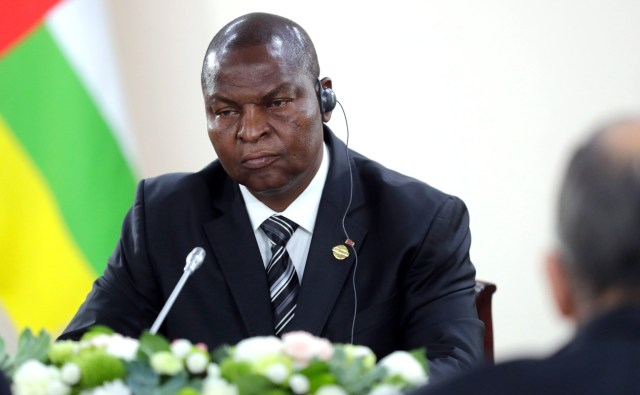 Central Africa president, Touadera, announces candidacy for December election