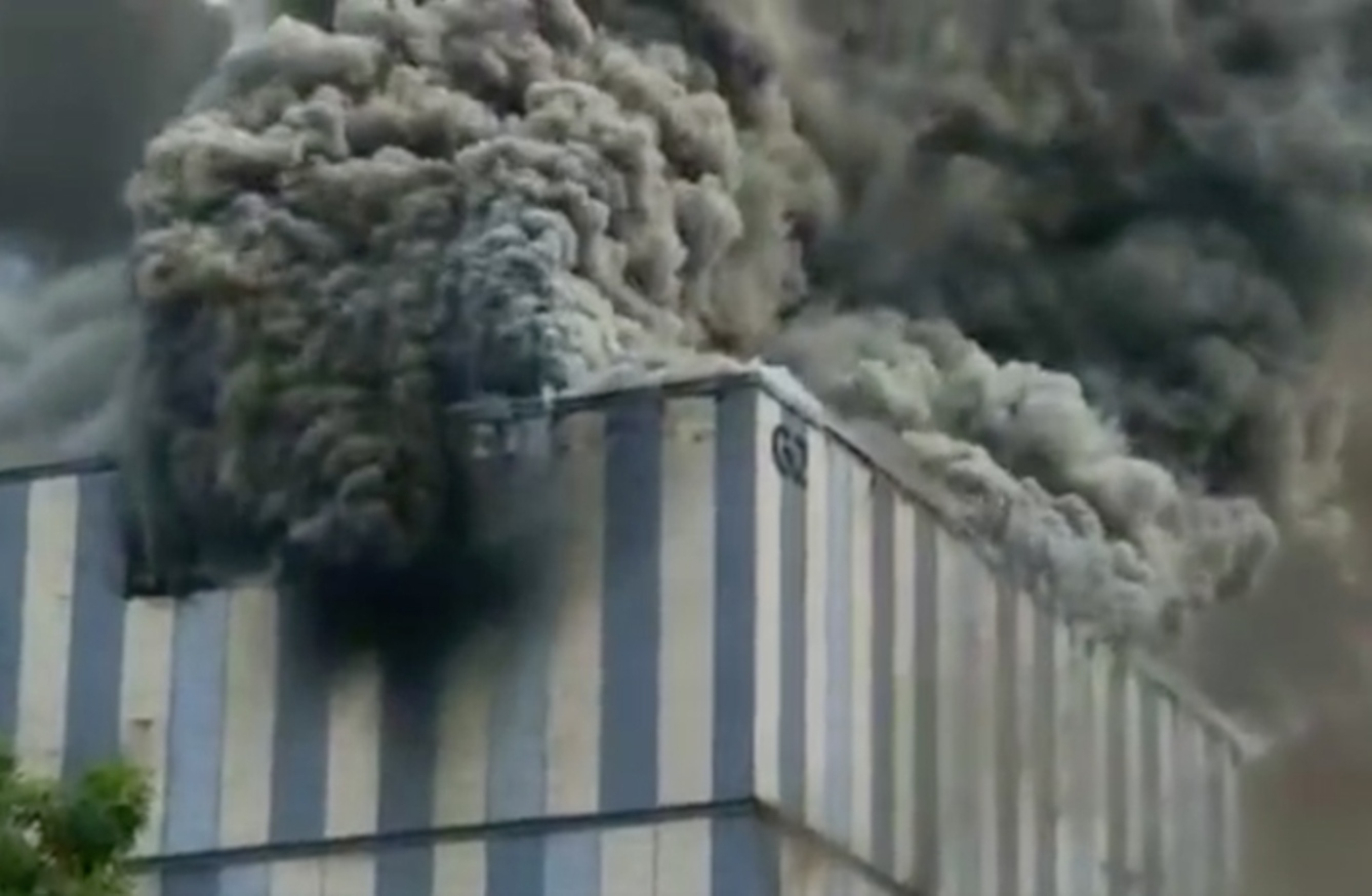Fire breaks out at Huawei office in southern China