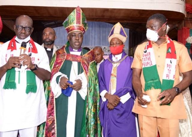 Christian leaders in Edo endorse Obaseki, Shaibu for second term