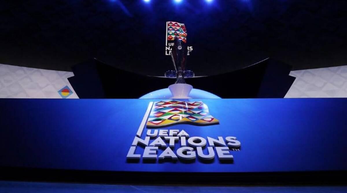 Football: UEFA Nations League groups