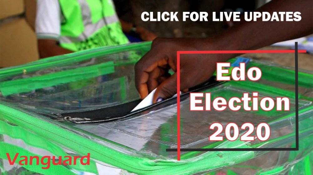 Edo 2020: Sorting, counting of votes start