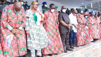 Wike, Obi, others storm Benin for PDP rally - Vanguard News