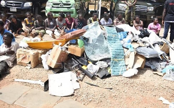 30 suspects arrested for vandalising, looting Dogara's residence in Jos