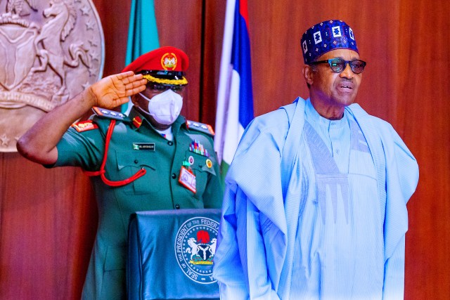 PHOTOS: Buhari presides over 19th virtual FEC meeting