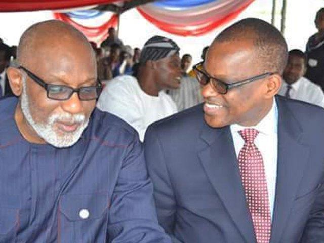 APC candidate, Akeredolu (L) and PDP's candidate, Jegede (R)