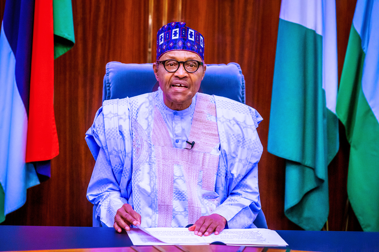 Unless we work together, we will suffer for nothing, Buhari tells APC members