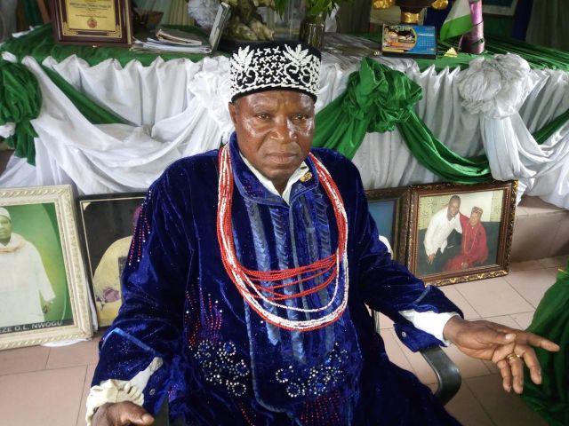 HRH Eze Obioma Nworgu, Eze-Oha-1 of Etitioha-Owaza