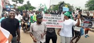 protesters in Osogbo