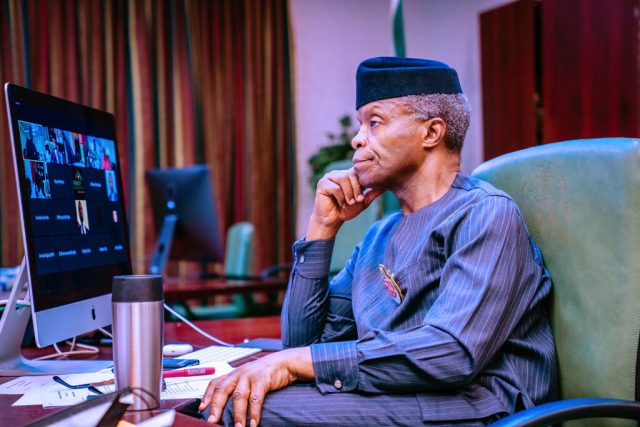 How Osinbajo managed public protests
