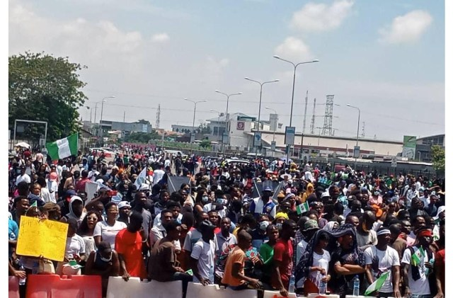 #EndSARS protest: Mandate International UK speaks on Lekki Tollgate crisis