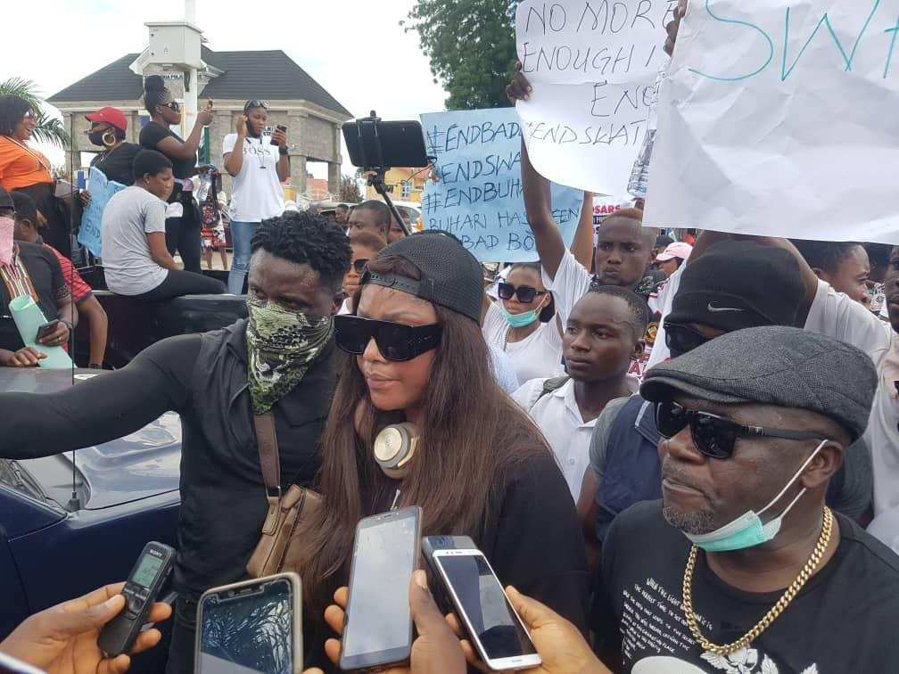 PHOTONEWS: BREAKING: Protest Rocks Sierra Leone Judiciary