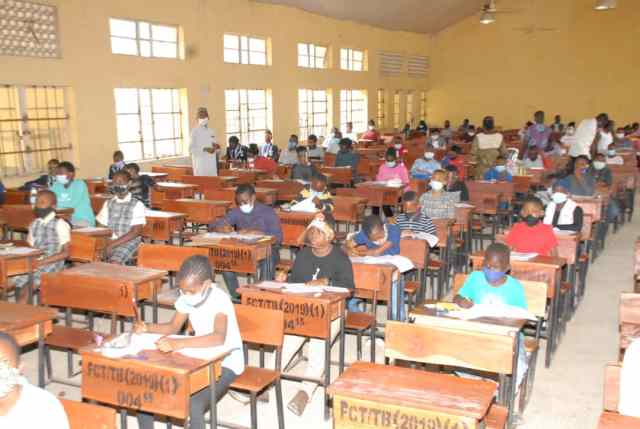 Unity Schools: 92,591 candidates write 2020 Common Entrance Examination