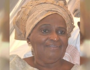 BREAKING: Awolowo's daughter, Revd Tola Oyediran, is dead