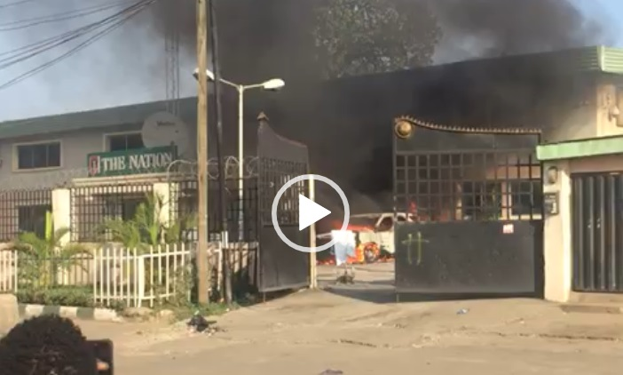 How Nation Newspaper office was torched ― Editor narrates