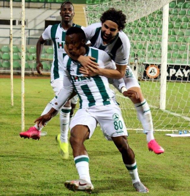 Uzodimma scores first professional goal in Turkey