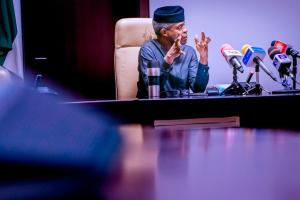 #ENDSARS: Governors to begin Judicial Review of Police Brutality ― Osinbajo