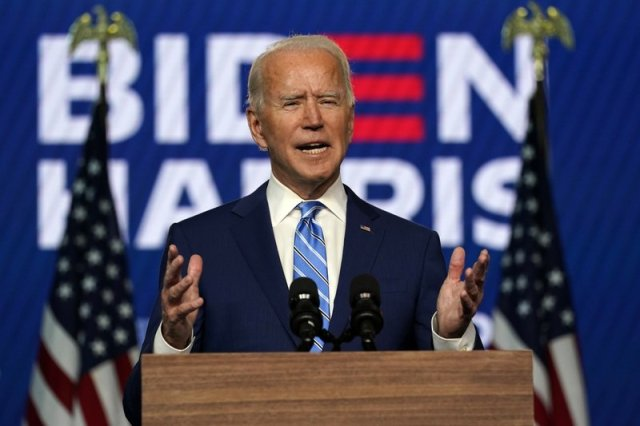 Biden wins Wisconsin, presidency still hangs in balance