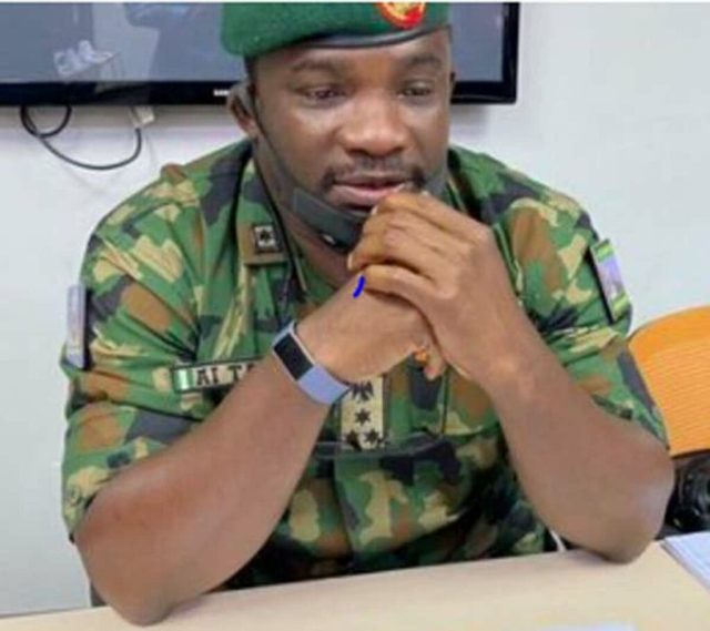 Army went to Lekki Tollgate with blank and live ammunition, General tells Judicial Panel