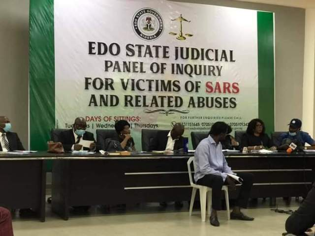 Woman asks Edo panel for N20m compensation for hubby SARS took away in 2012