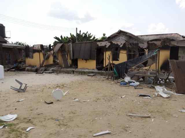 Three killed, 4 buildings burnt as renewed cult clash rocks Ughelli