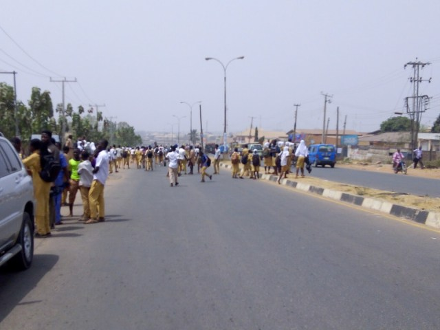 Peace corps injured as students attack schools in Osun