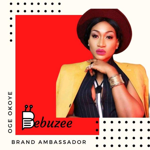 Oge Okoye signs ambassadorial deal with Bebuzee