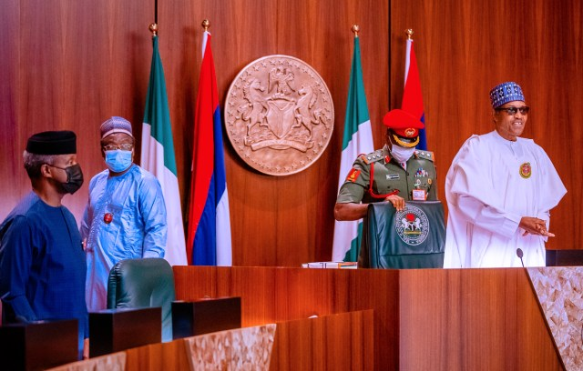 Buhari presides over 26th virtual FEC