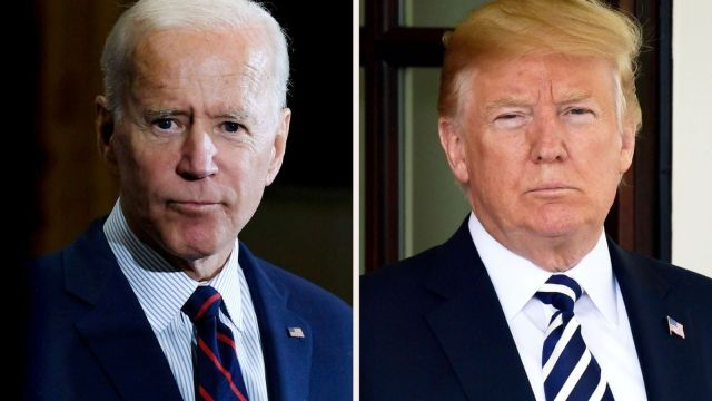 Trump and Biden offer stark difference on pandemic in final push