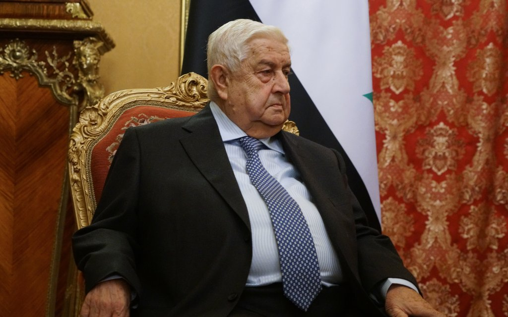 Syrian FM Walid al-Moallem passes away at 79
