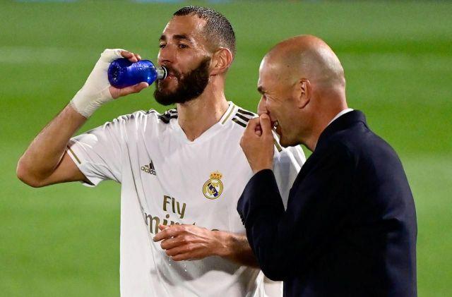 Zidane hails Benzema