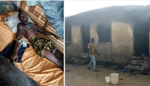 Another lady sets lover ablaze over failed marriage plans