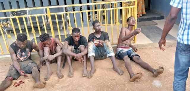 Police intercepted suspected cultists on revenge mission