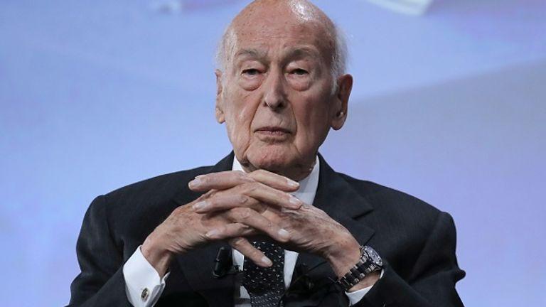 Former French president Giscard d'Estaing dies aged 94