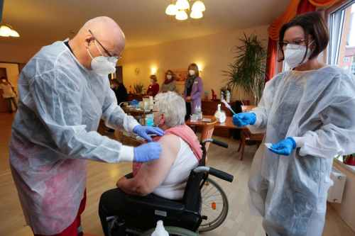 101-year-old among German senior home residents to receive vaccine