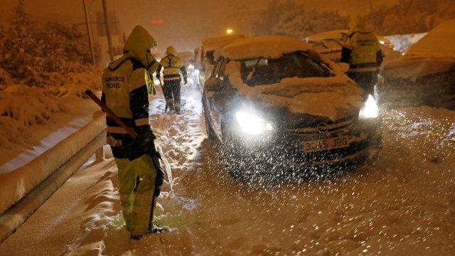 La Liga: Snowfall forces postponement of Atletico, Bilbao clash