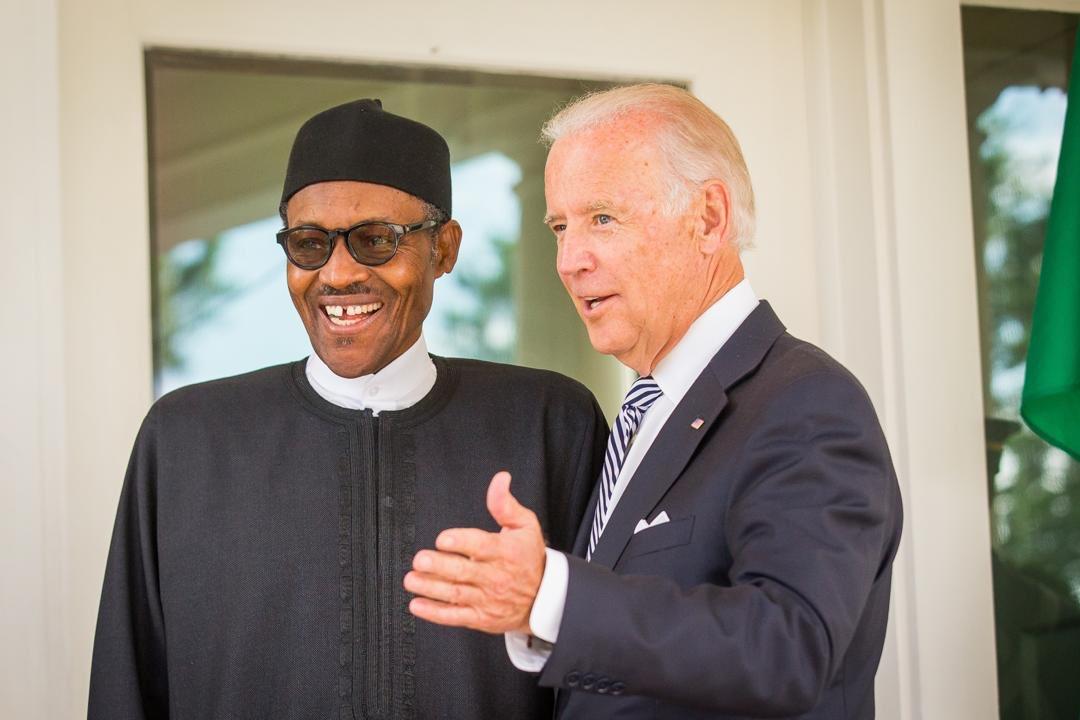 Buhari congratulates U.S President, Joe Biden, VP Kamala Harris