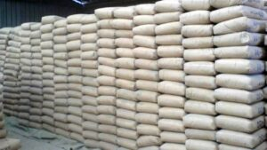 As the price of cement rose to N3,500 from N2,600 per bag