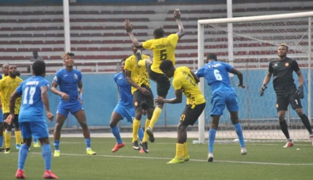 Enyimba see out 1-0 win against Wikki Tourist
