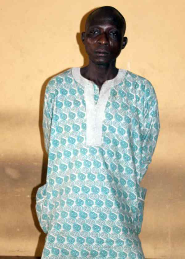 Man, 45, arrested for defiling his 13 years old daughter
