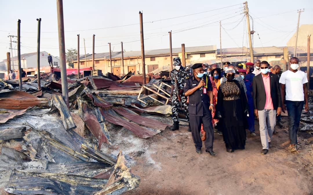 Inferno: Aliyu wants reorganization of Kugbo Furniture Market