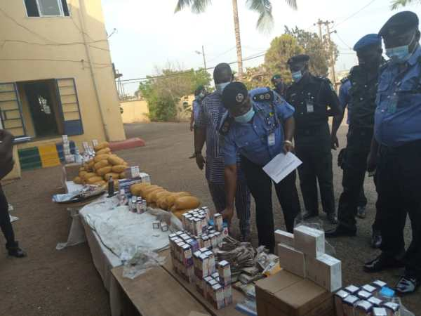 Police burst 'drug cartel' in Ogun, recover Ns2.2M, hard drugs